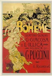 Poster La bohème