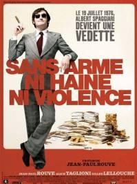 Poster Sans arme, ni haine, ni violence
