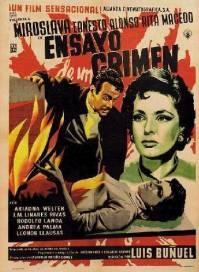 Poster Ensayo de un crimen