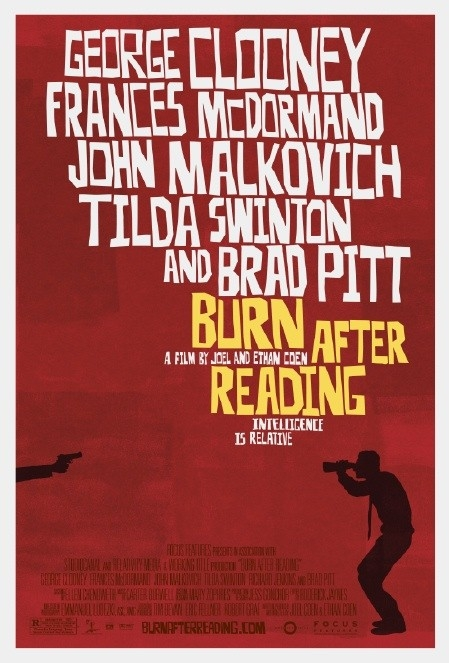 Poster Burn After Reading (c) Universl Pictures