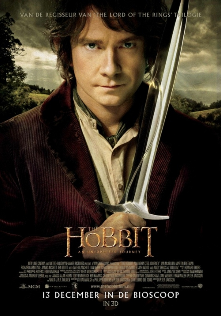 The Hobbit: An Unexpected Journey poster, © 2012 Warner Bros.