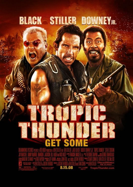 Poster Tropic Thunder (c) Universal Pictures
