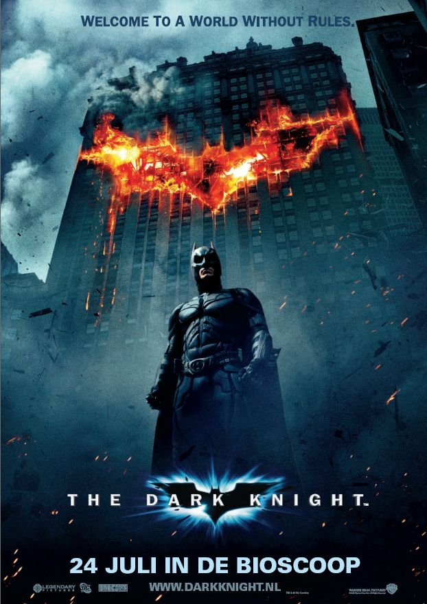 Poster The Dark Knight (c) 2008 Warner Bros. Ent. All rights Reserved