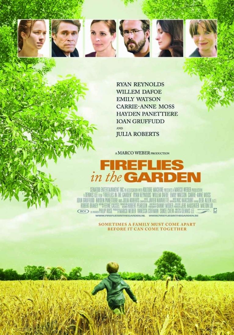 Poster Fireflies in the Garden (c) RCV Entertainment