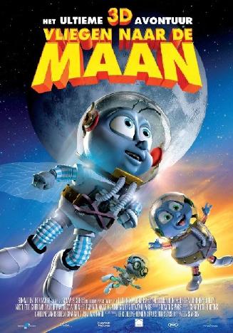 Poster Vliegen naar de maan (c) RCV Entertainment