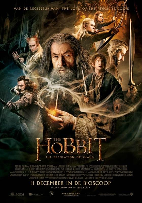 The Hobbit: The Desolation of Smaug poster, © 2013 Warner Bros.