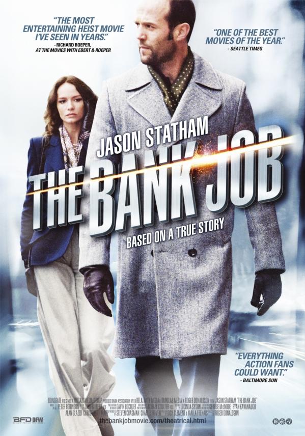 Poster The Bank Job (c) Benelux Film Distributors