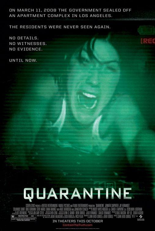 Poster Quarantine (c) Sony Pictures Releasing