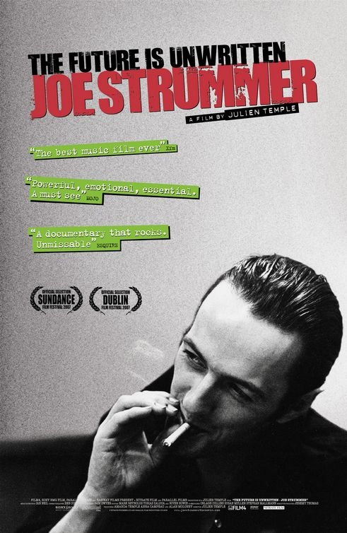 Poster Joe Strummer - The Future is Unwritten
