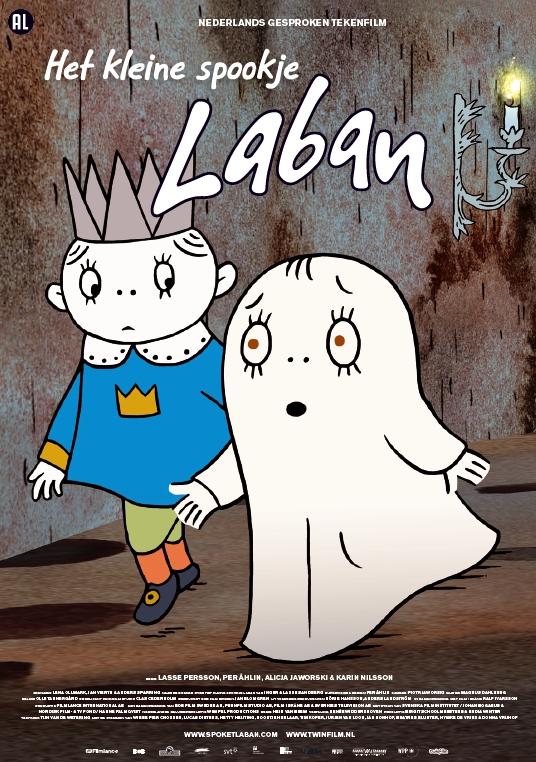 Poster Het kleine spookje Laban (c) Twin Film
