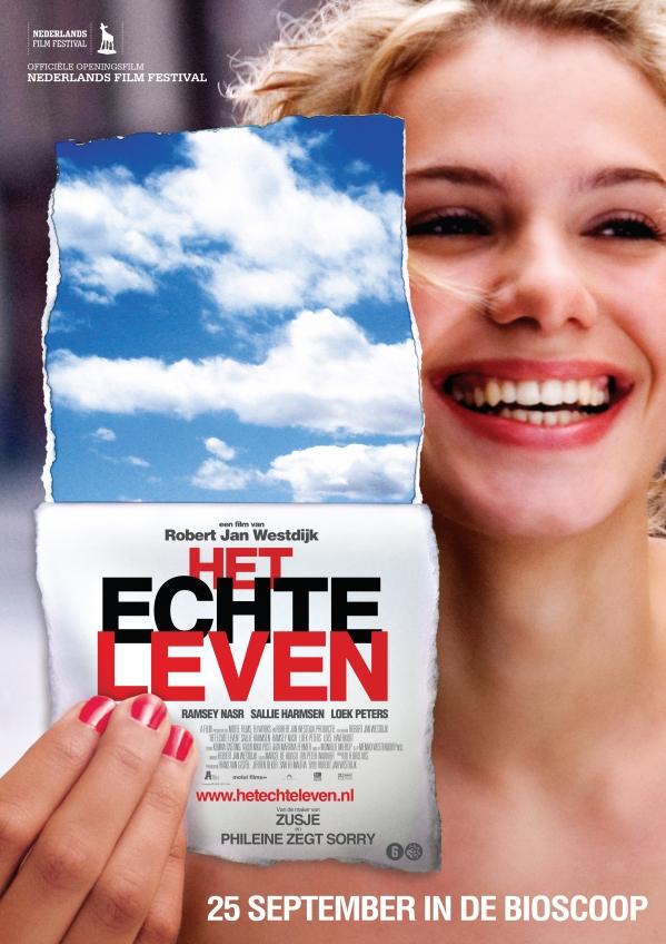 Poster Het Echte Leven (c) A-Film