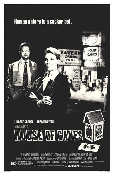 Poster House of Games