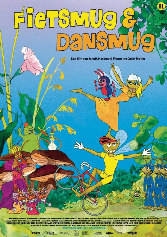 Poster Fietsmug & Dansmug (c) Twin Film