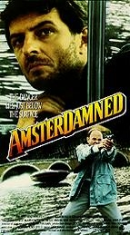 Poster 'Amsterdamned' (c) 1988 Concorde Film