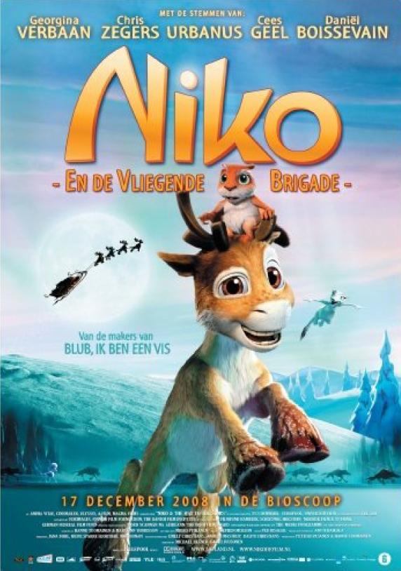 Poster Niko en de vliegende brigade (c) RCV Entertainment