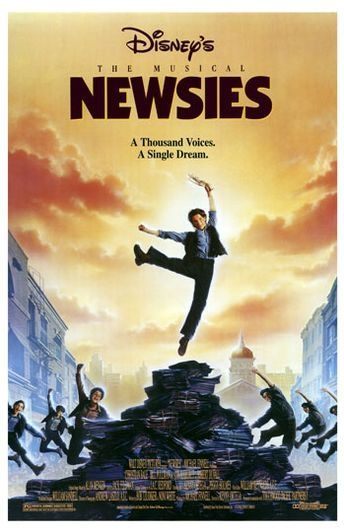 Poster Newsies