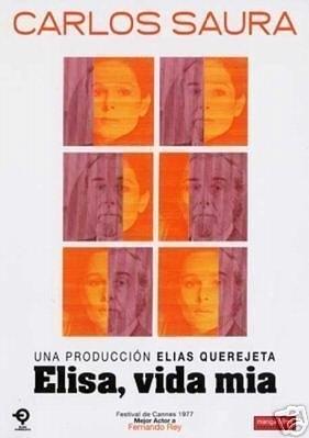 Poster Elisa, vida mía