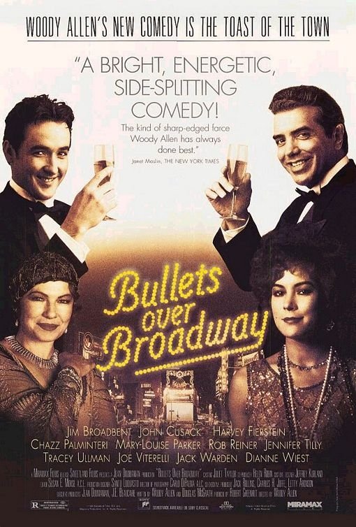 Poster Bullets over Broadway