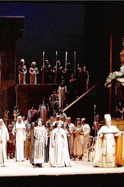 Aïda (opera) poster, copyright in handen van productiestudio en/of distributeur