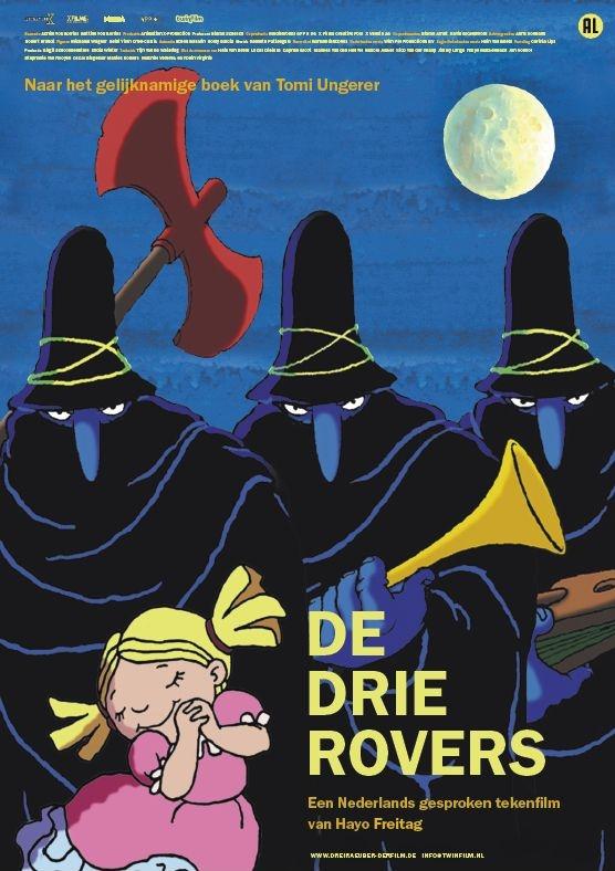 Poster De drie rovers (c) Twin Film