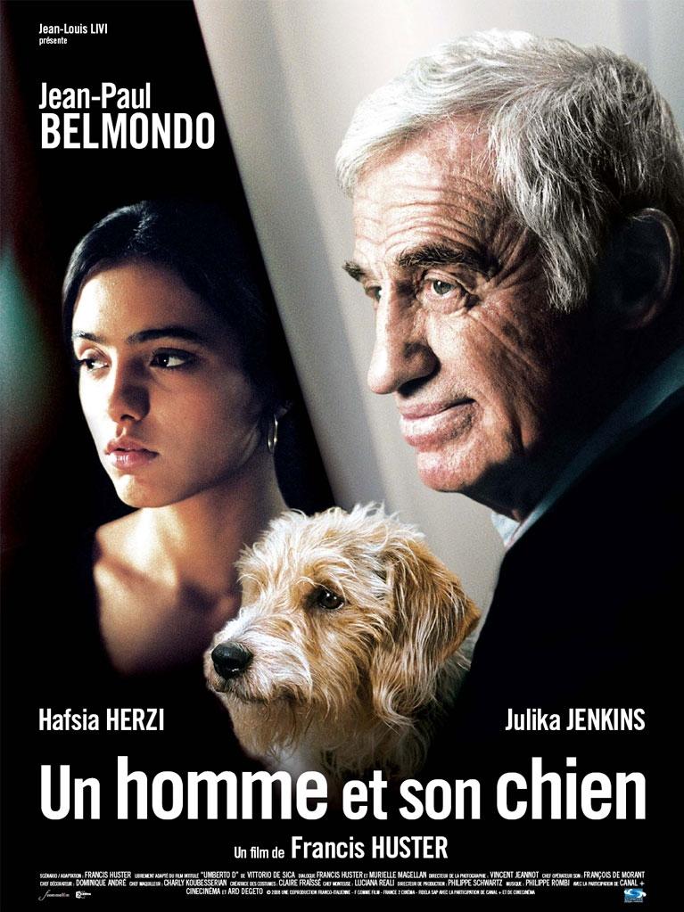 Poster Un homme et son chien