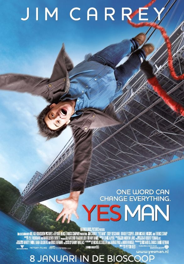 Poster Yes Man (c) 2008 Warner Bros. Ent. All Rights Reserved