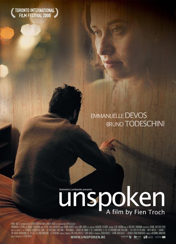 Poster Unspoken (c) Cinéart