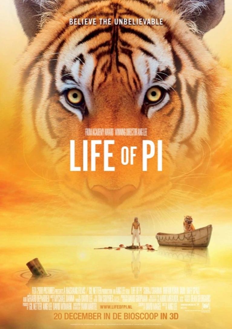 Boekkaft Life of Pi