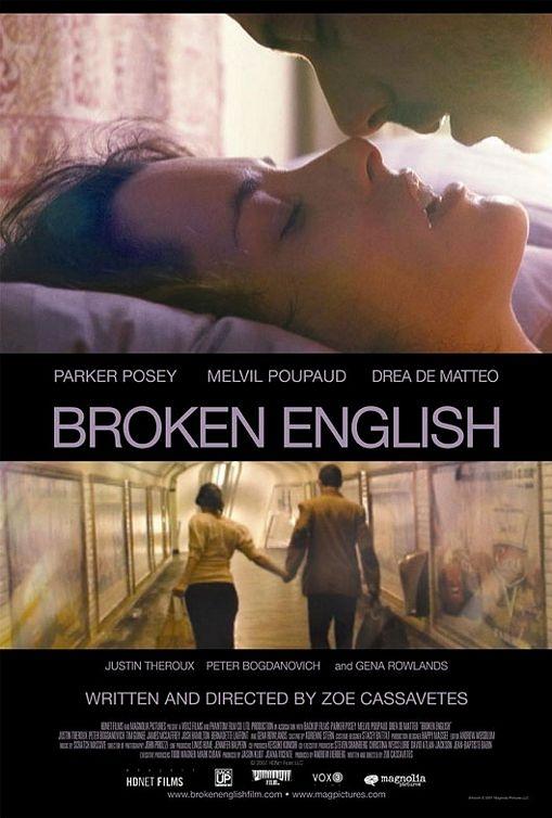 Poster Broken English