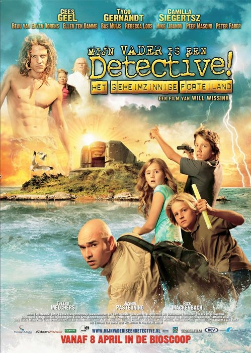 Poster Mijn vader is een detective! (c) RCV Entertainment