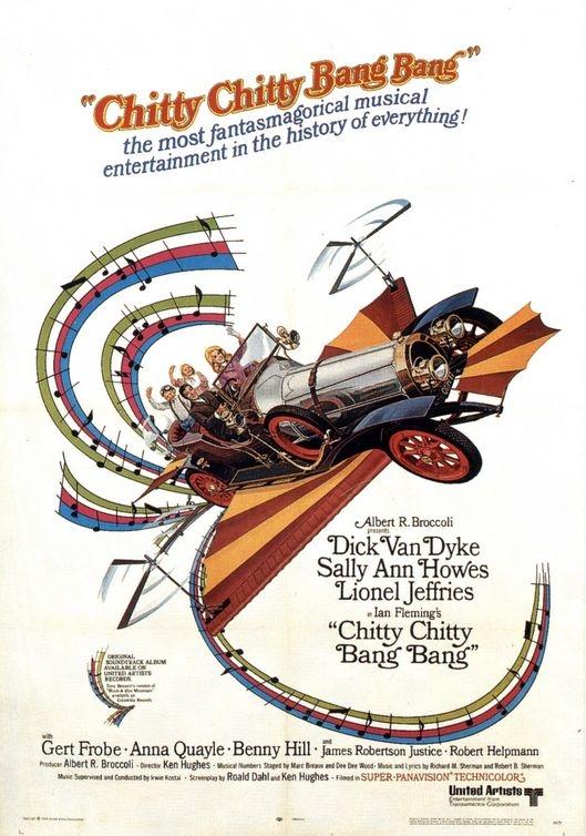 Poster Chitty Chitty Bang Bang