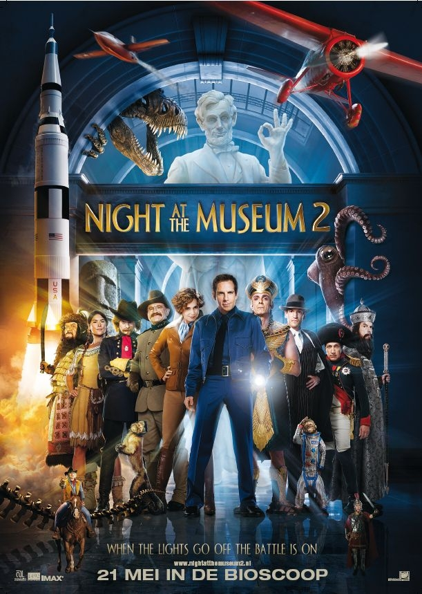 Night at the Museum 2: Battle of the Smithsonian (c) Warner Bros.