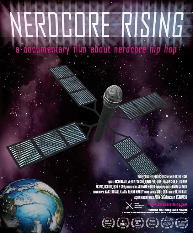 Poster Nerdcore Rising