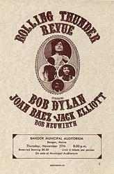Poster Rolling Thunder Revue