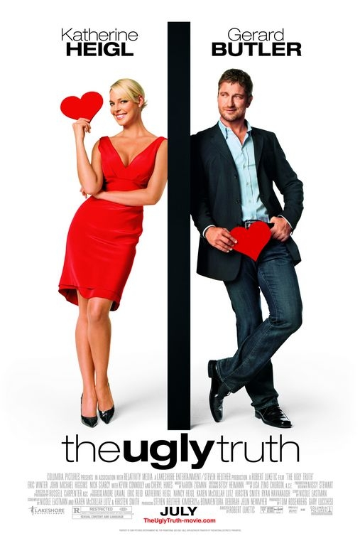 The Ugly Truth poster, © 2009 Sony Pictures Releasing