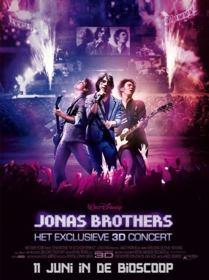 Poster Jonas Brothers: Het exclusieve 3D concert