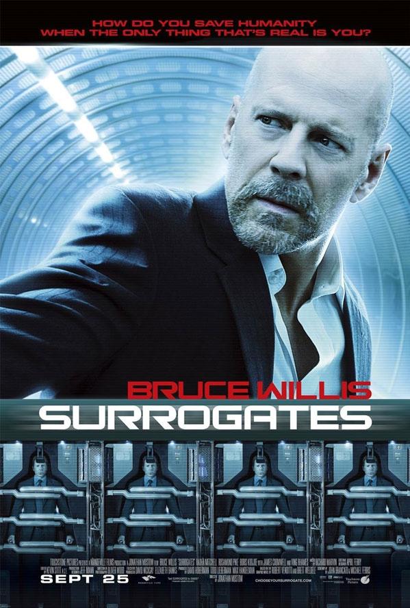 Surrogates poster, © 2009 Walt Disney Studios Motion Pictures