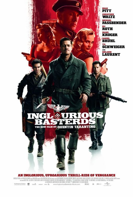 Inglourious Basterds poster, © 2009 Universal Pictures