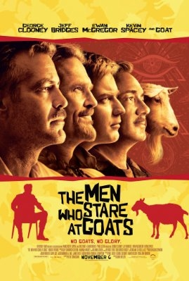 The Men Who Stare At Goats poster, © 2009 E1 Entertainment Benelux