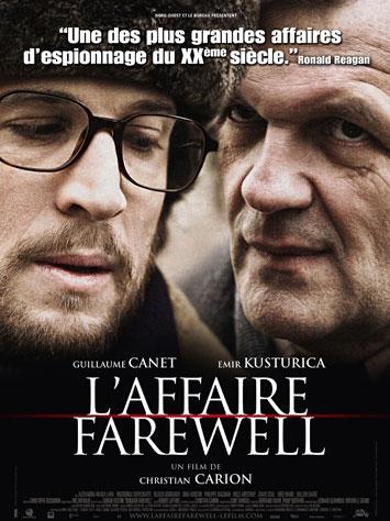 L'affaire Farewell poster, copyright in handen van productiestudio en/of distributeur