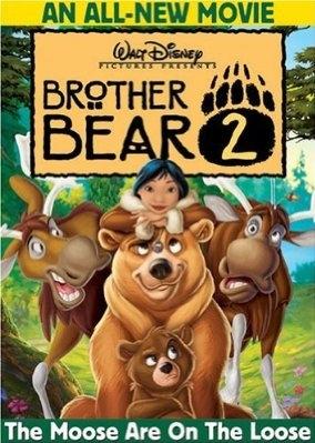 Brother Bear 2 poster, copyright in handen van productiestudio en/of distributeur