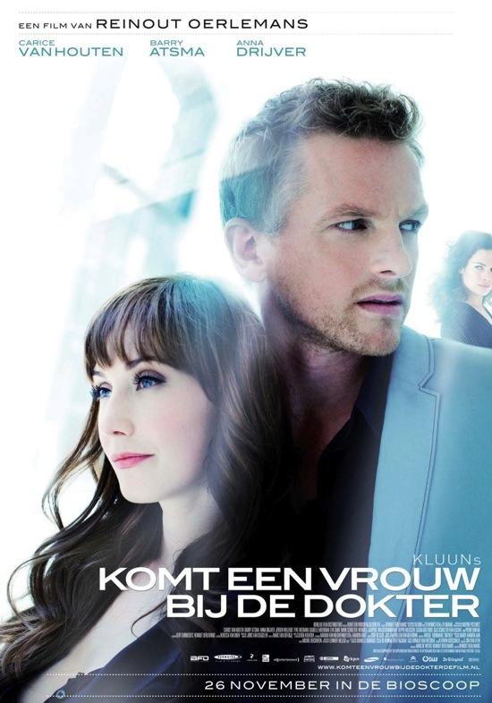 Komt een vrouw bij de dokter poster, © 2009 Benelux Film Distributors