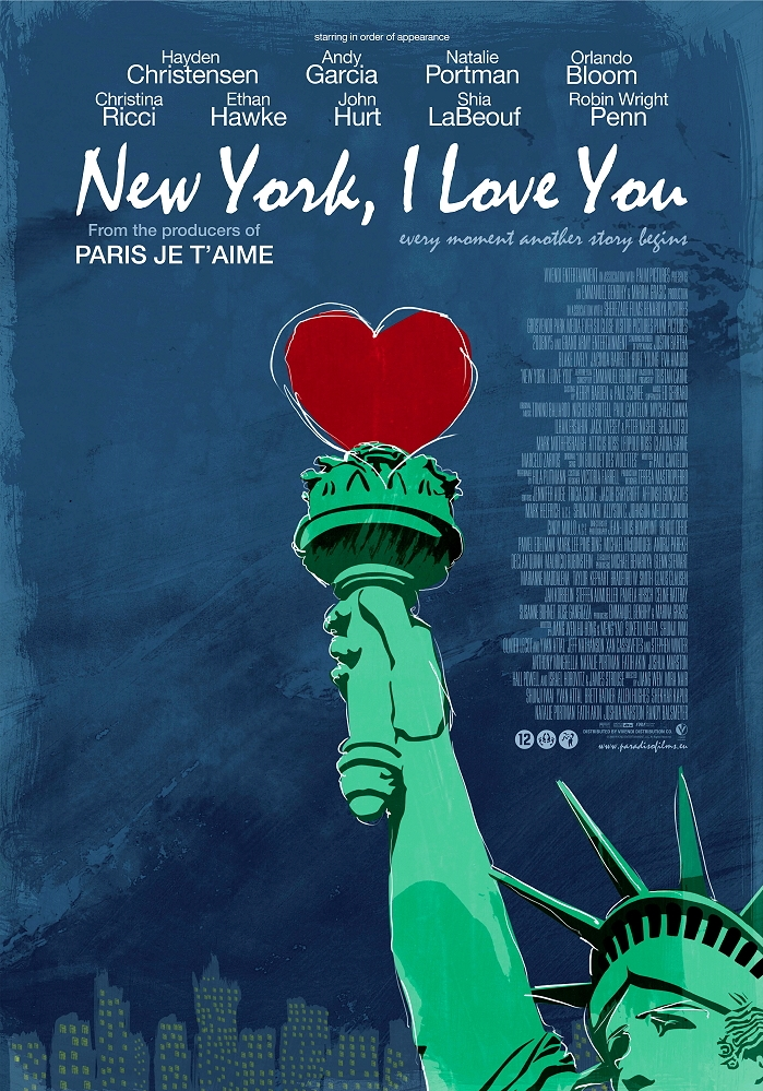 New York, I Love You poster, © 2009 Paradiso