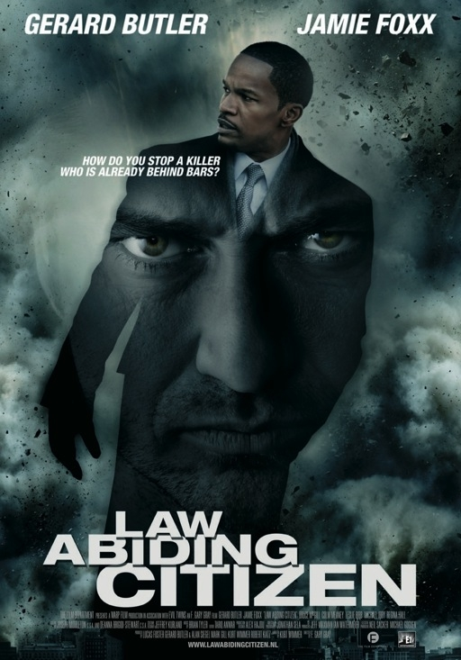 Law Abiding Citizen poster, © 2009 E1 Entertainment Benelux