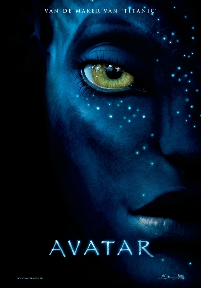 Avatar poster, copyright in handen van productiestudio en/of distributeur