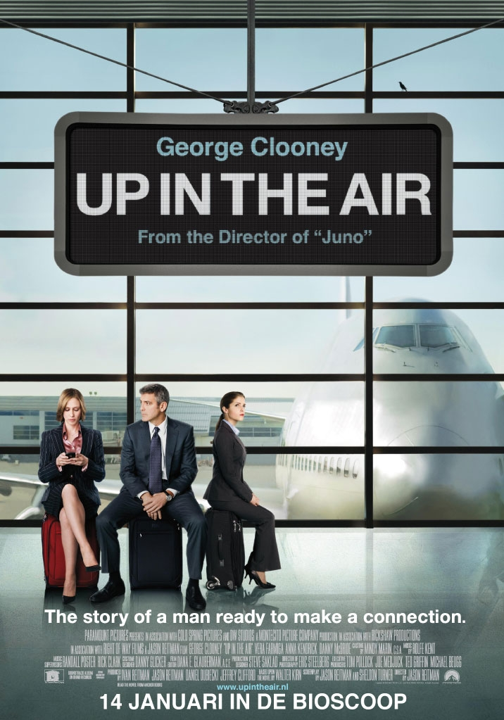 Up in the Air poster, © 2009 Universal Pictures