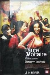 Franse filmposter 'La Faute à Voltaire' (c) 2001 Google.com