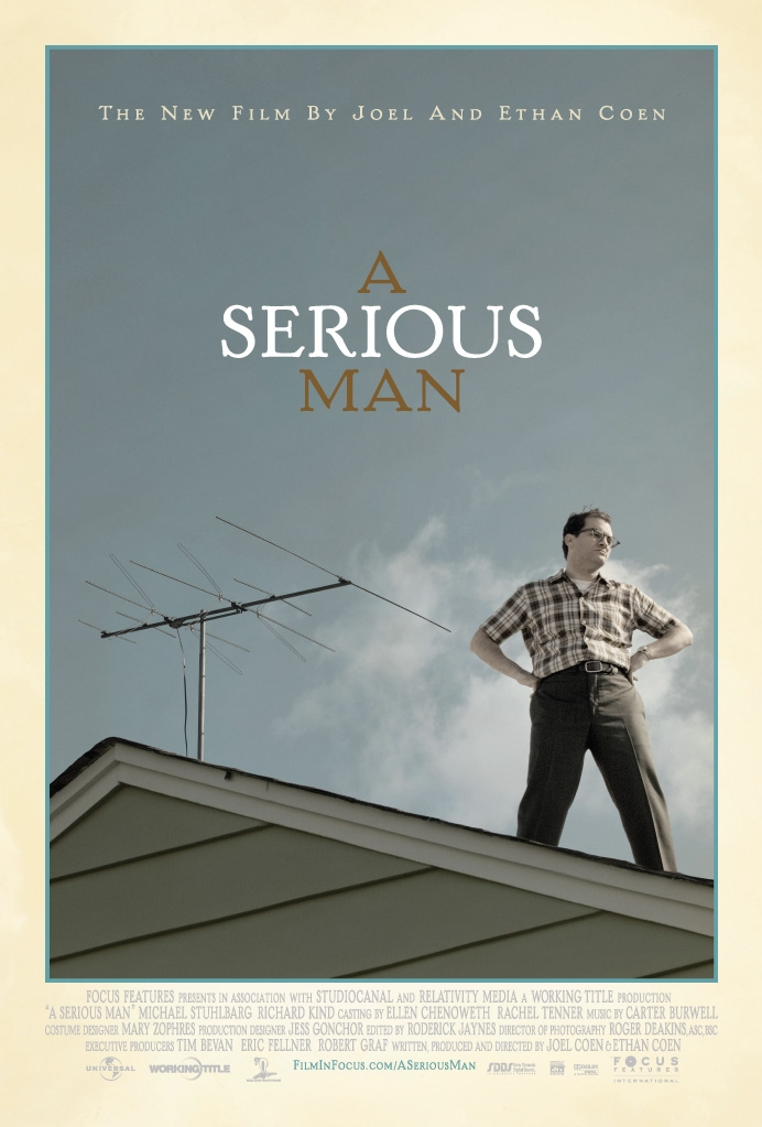 A Serious Man poster, © 2009 Universal Pictures