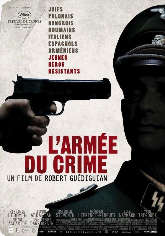 L'armée du crime poster, copyright in handen van productiestudio en/of distributeur