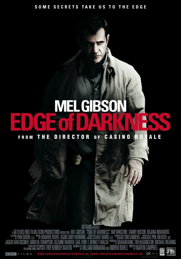 Edge of Darkness poster, © 2010 E1 Entertainment Benelux